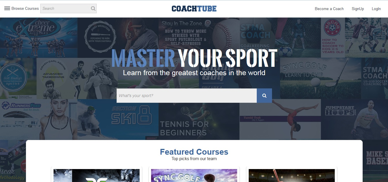 WE ARE OFFICIALLY LAUNCHED! COACHTUBE PRESS RELEASE