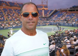 CHATTING WITH TENNIS PRO BRUCE CONNORS